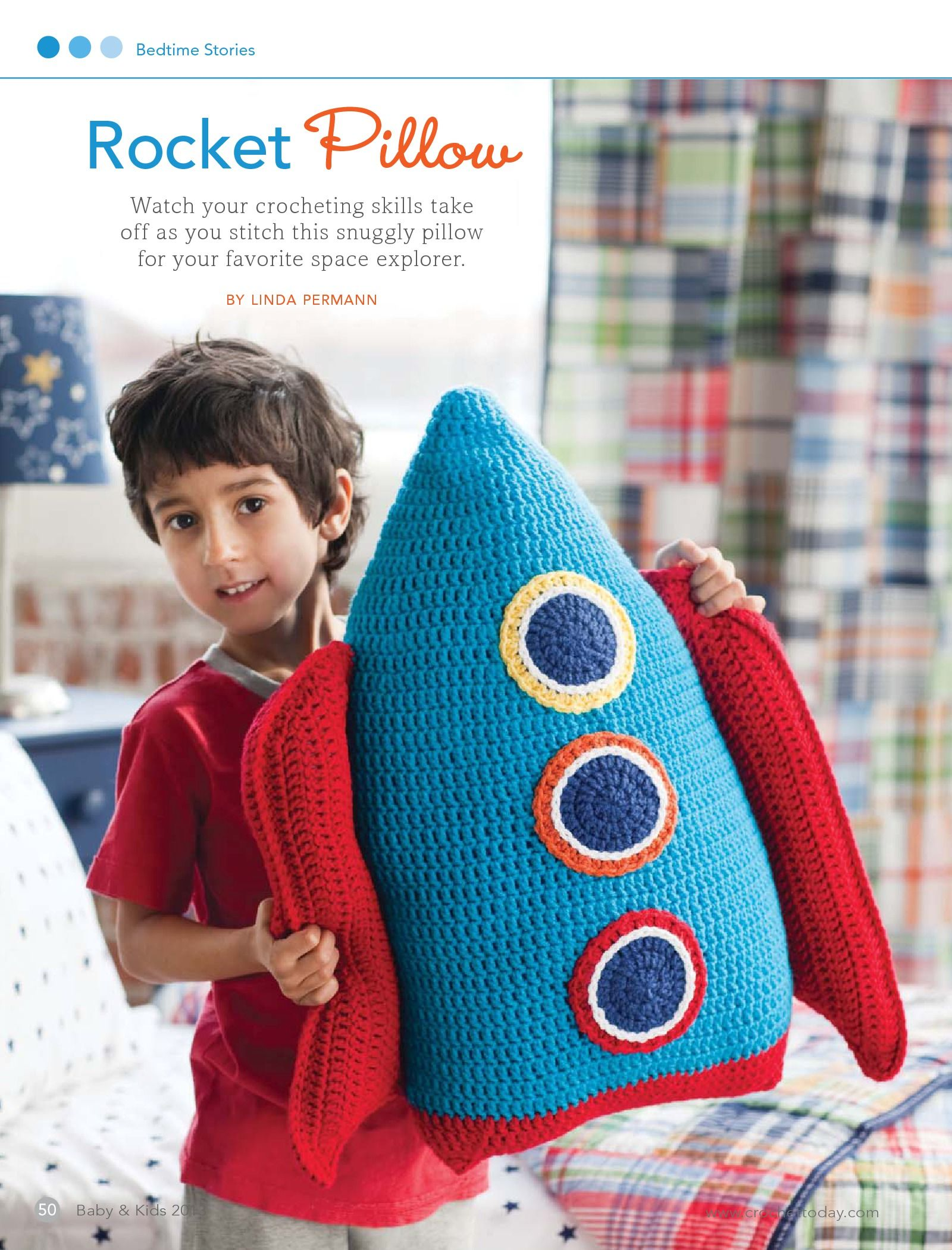 Rocket pillow this would be fun in the boys crash pit rocket quartered heart crochet crochet gifts for christmas free crochet pillow pet pattern this is awesome bankloansurffo Choice Image