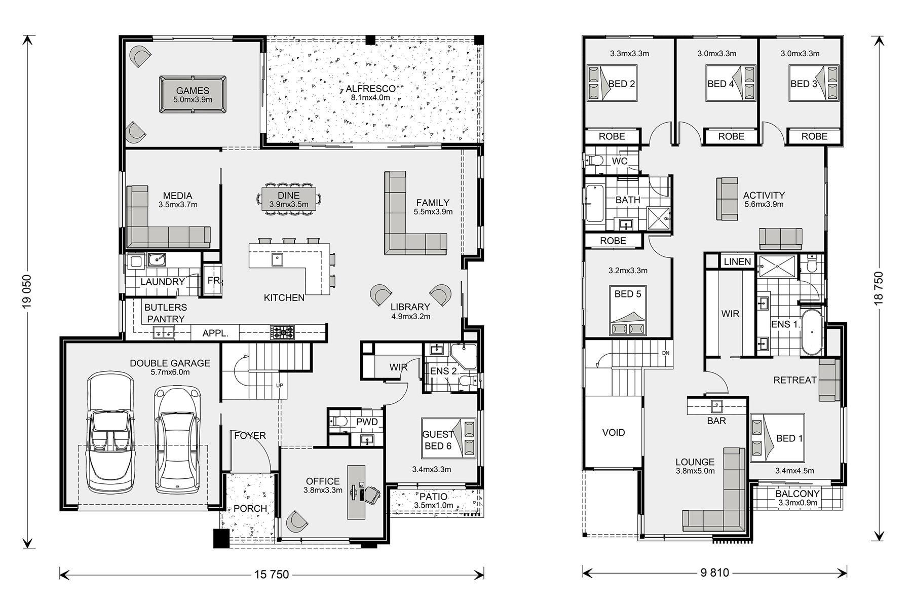 Hawthorn Home Designs In Gympie G J Gardner Homes New House Plans House Design Dream House Plans