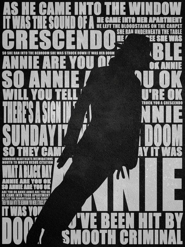 Lyric nasty janet jackson lyrics : Resultado de imagem para Michael Jackson - Lyrics Typography Print ...