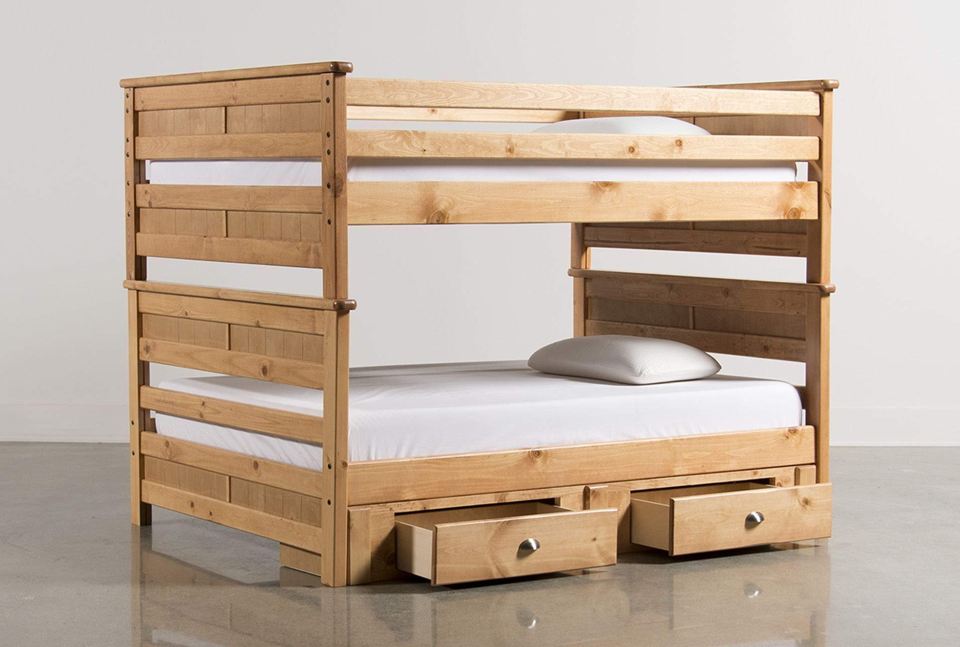 Living Spaces 89565 Back Home Bunk Beds Full Bunk Beds