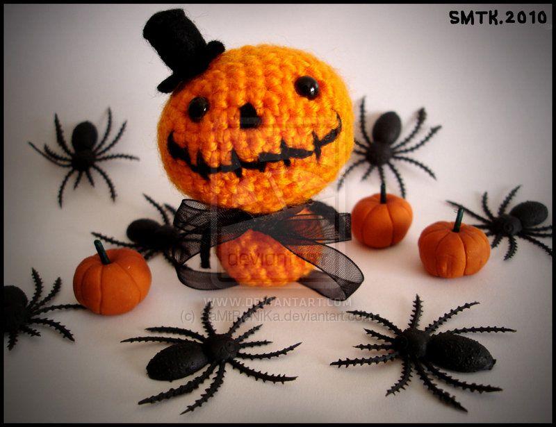 Halloween Amigurumi Crochet Pattern : Mister halloween:. amigurumi crochet i like from others