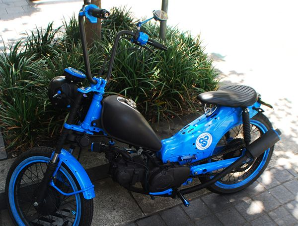 Australian Cafe Racers Blog Stolen In Sydney Honda Ct110