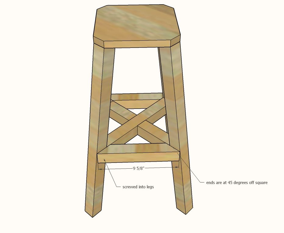 Awe Inspiring Ana White Build A Industrial Adjustable Height Bolt Bar Pdpeps Interior Chair Design Pdpepsorg