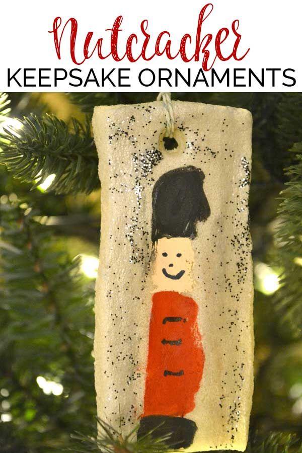 Nutcracker Keep Sake Ornaments DIY Christmas Ornaments for big and