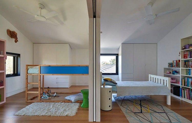 kinderzimmer f r geschwister mit trennwand raumideen pinterest geschwister fassaden und. Black Bedroom Furniture Sets. Home Design Ideas