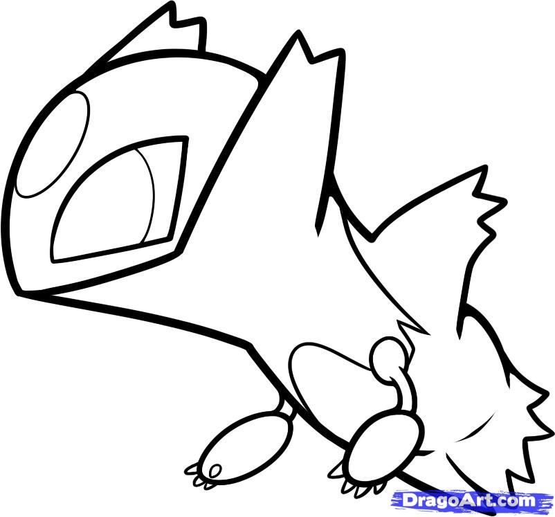 pokemon chibi coloring pages - photo#11