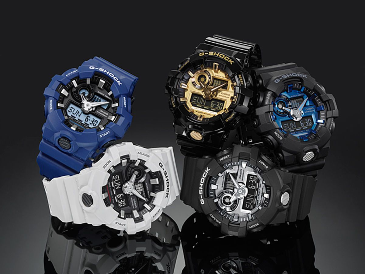 3980caa9c64b2 G-Shock Launches New GA-710 Series Featuring