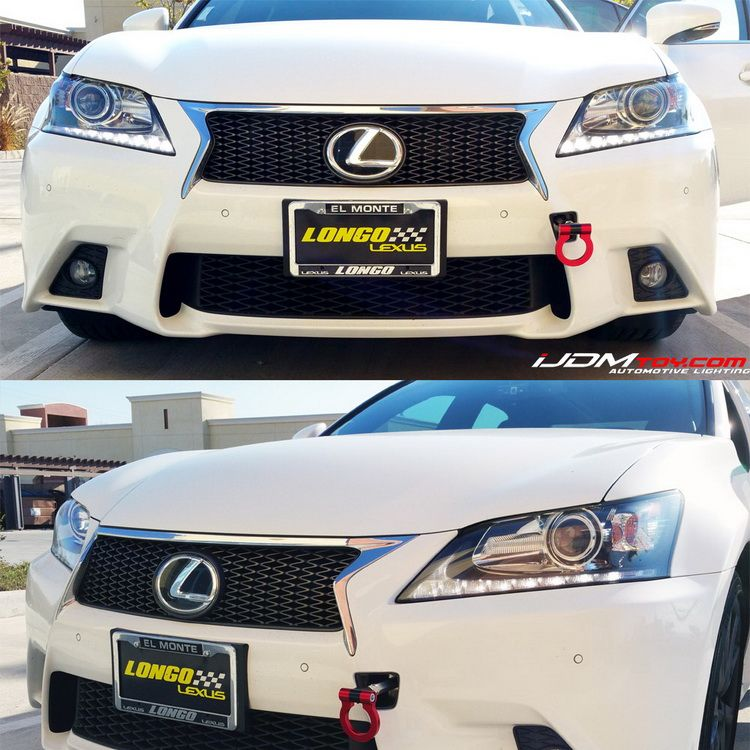 Some cool looking Lexus IS LED bumper reflectors really bring out ...