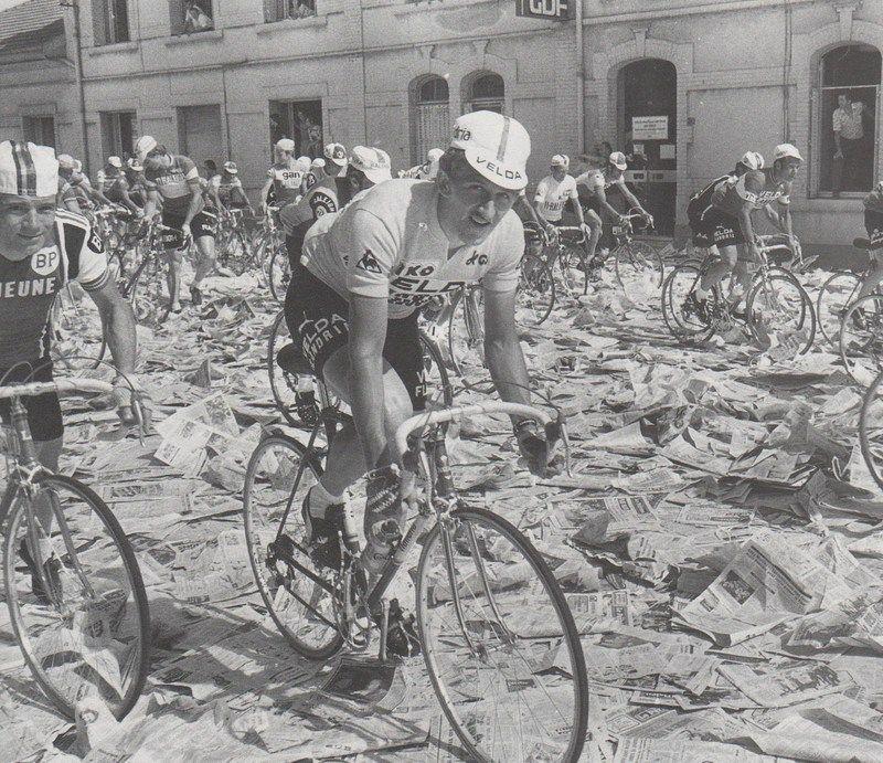 Paper strike during TdF, 1976 Cycling, Road racing, Bike