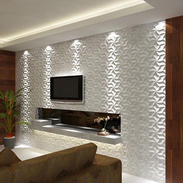Living Room Wall Tile Designs: Decorative Glass Tiles Designs