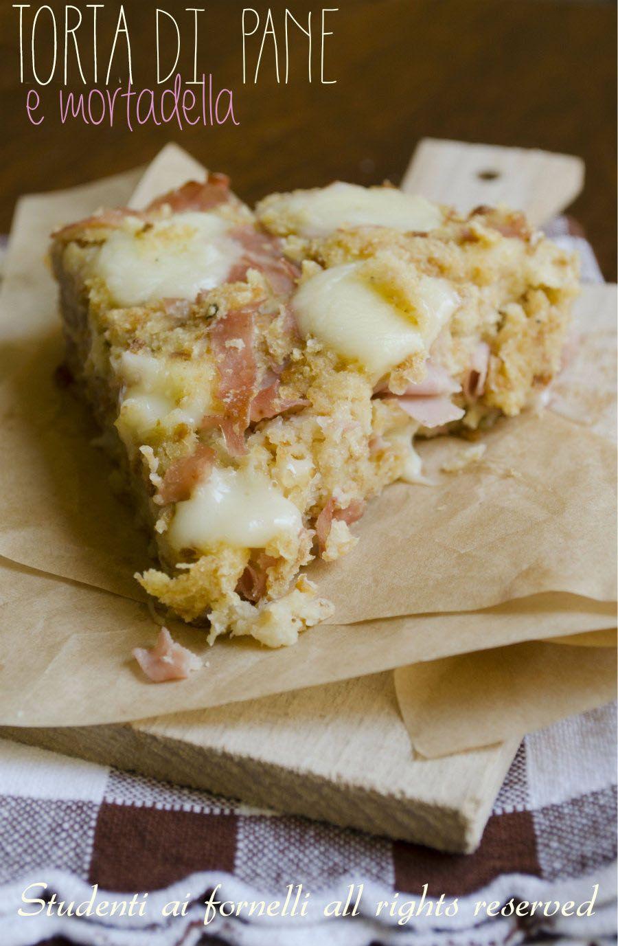 Torta Di Pane E Mortadella Facilissima Leccornie Dolci E Salate