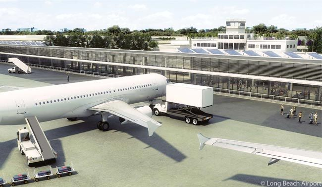 Long Beach Airport Renovation And Expansion