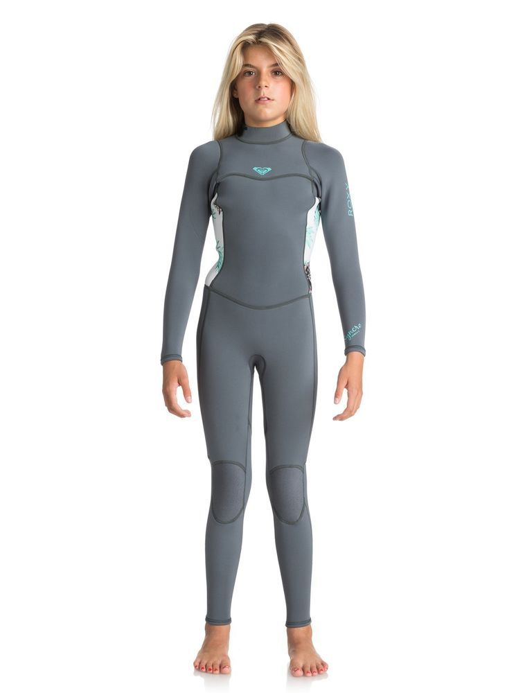 5a08ce2ef3 Roxy 3/2mm Syncro Series - Back Zip Wetsuit - Girls 8-16 - 12G ...