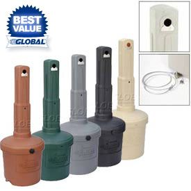 Outdoor Ashtrays | Free Standing Ashtrays | Outdoor Ashtrays    GlobalIndustrial.com
