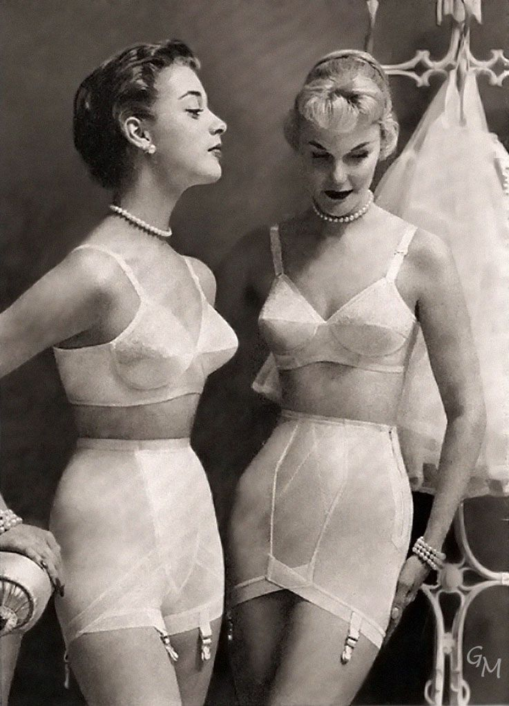 a5e74554a74 It always seemed to me that my mom was never shy about showing her foundation  garments to her friends
