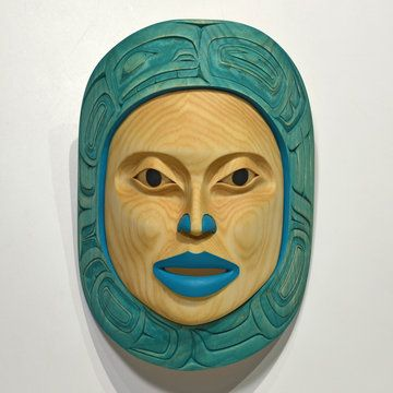 Mother Moon Mask by Stephanie Anderson