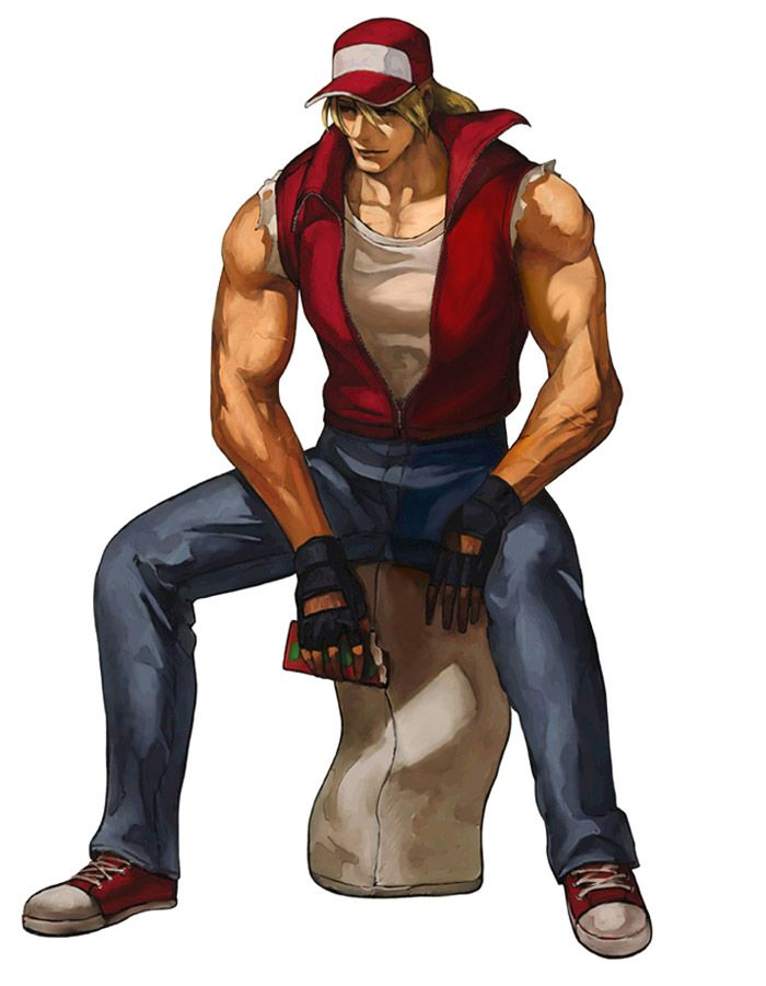 Terry Bogard Characters Art King Of Fighters 2001 King Of Fighters Fighter Art Of Fighting