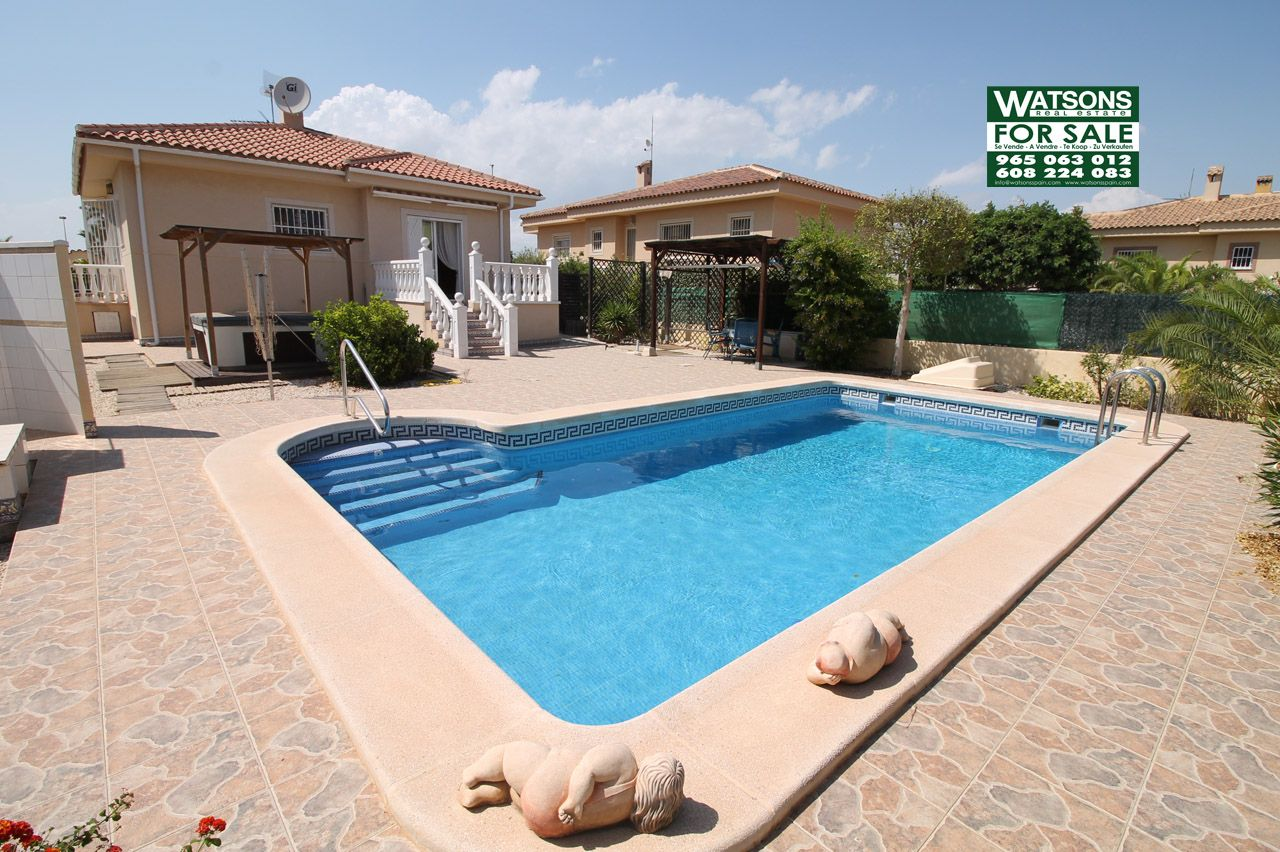 Property Ref: W3935 Detached West facing villa with private swimming ...