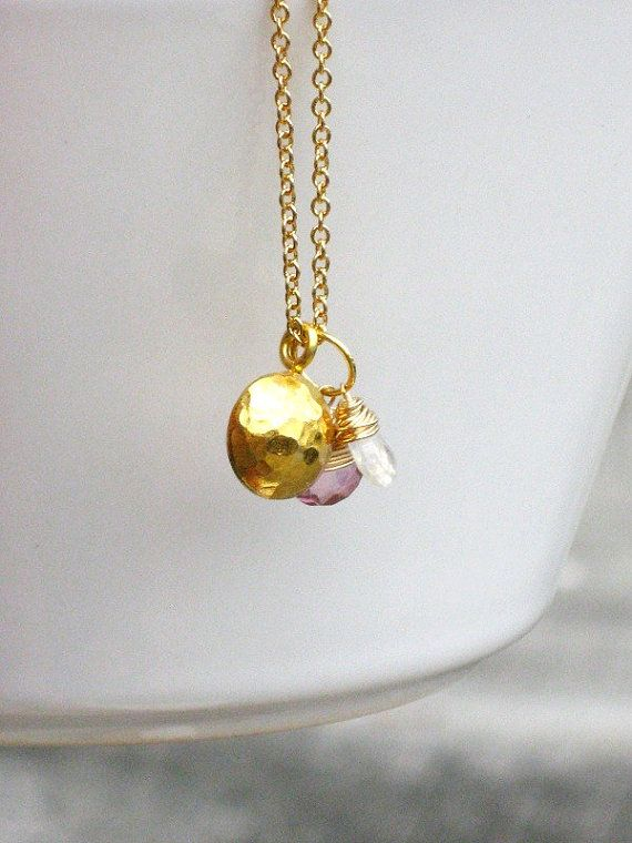Handcrafted 14K Wire Wrapped Pink Quartz by KrystalBairdDesigns, $36.50