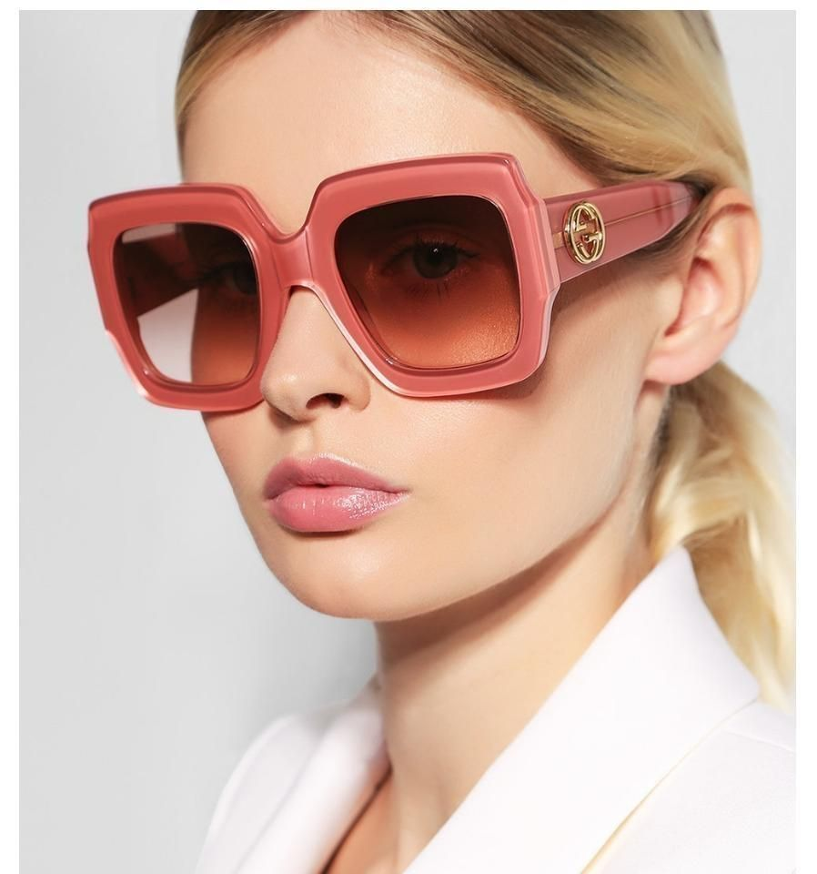 Pin By Rose On Oculos Escuros Gucci Sunglasses Women Sunglasses Women Oversized Sunglasses