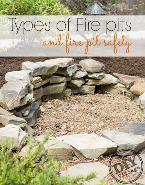 All About Fire Pits Sizes And Fuel Types, Also Most Importantly Fire Pit  Safety.