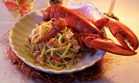 #Menu pesce con tris di antipasti astice  ad Euro 34.99 in #Groupon #Fish restaurant1