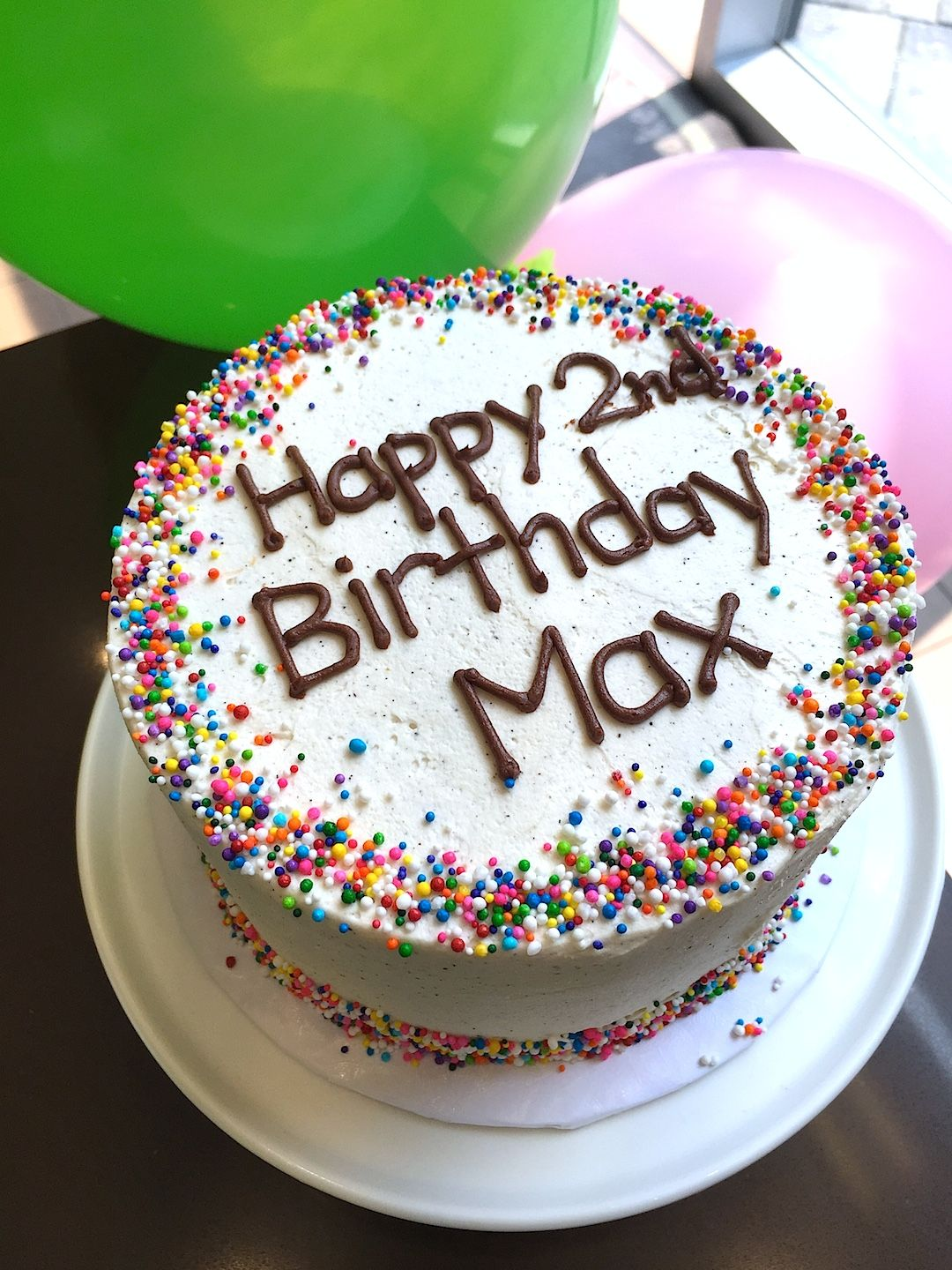 Say Happy Birthday With Sprinklesand Cake Of Course Personalize Your Message Our Online Ordering System