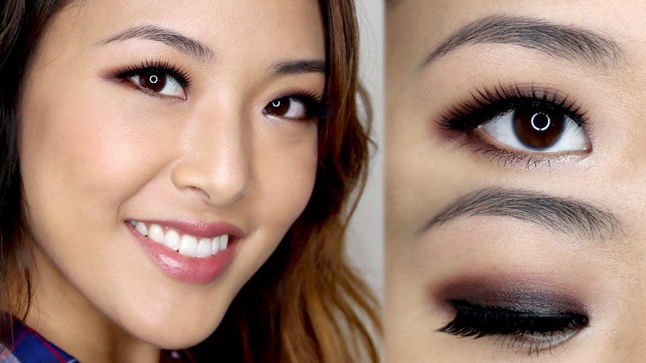 Simple One Color Smokey Eye Tutorial Asian eye makeup