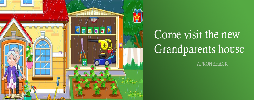 My Town Grandparents is an Educational Pretend Play game for android