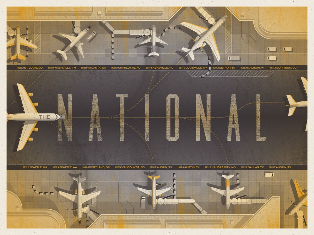 DKNG » Store » The National (USA Tour)
