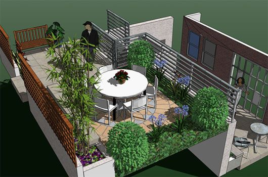 Step by Step Make Roof Garden Plan Decorating Ideas | Jeannies ...