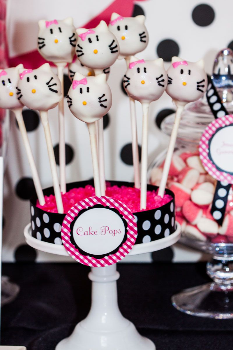 MESA DULCE CUMPLEAOS INFANTIL Hello Kitty Birthday party ideas