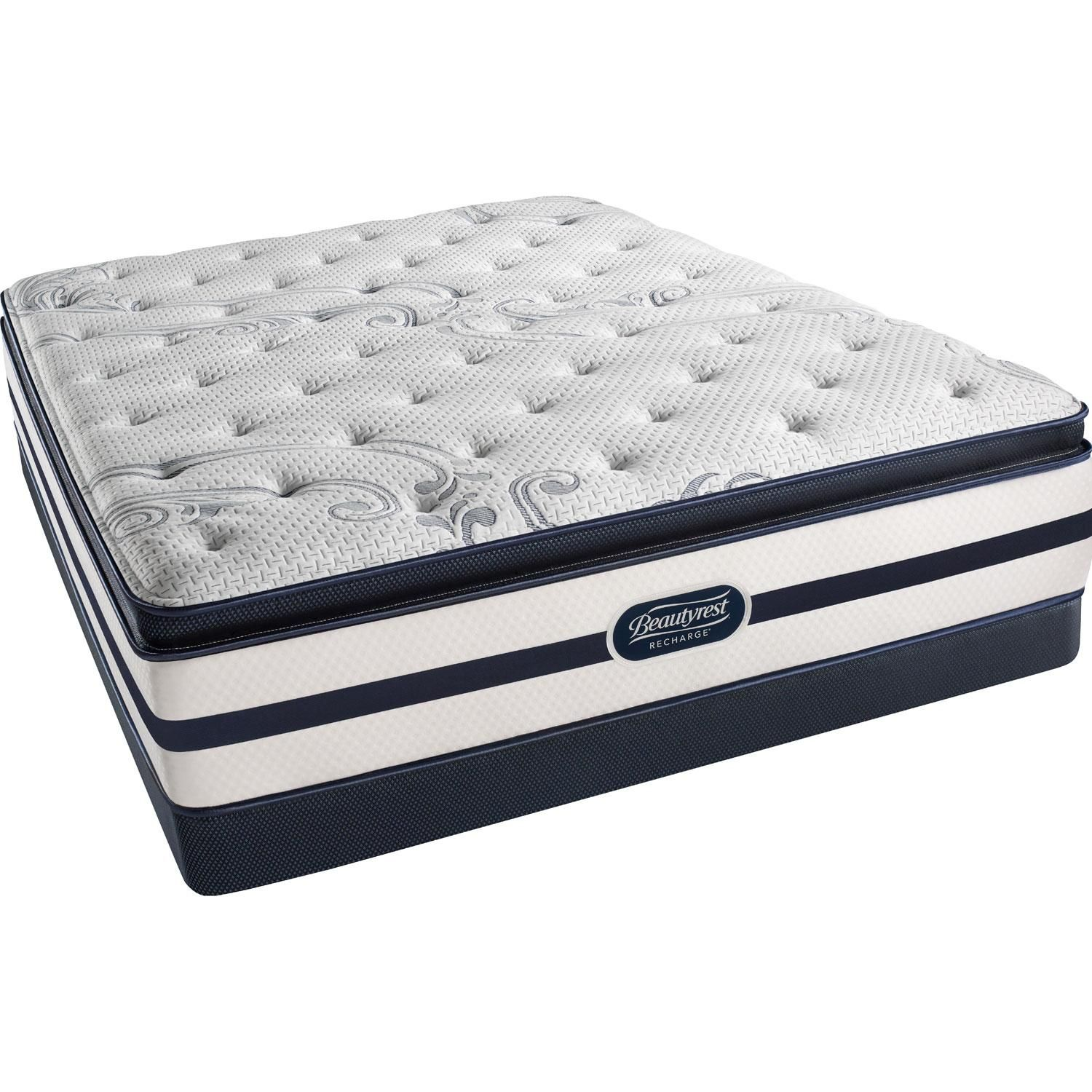 Beautyrest Recharge Bryanna Luxury Firm Pillow Top Low Profile Set