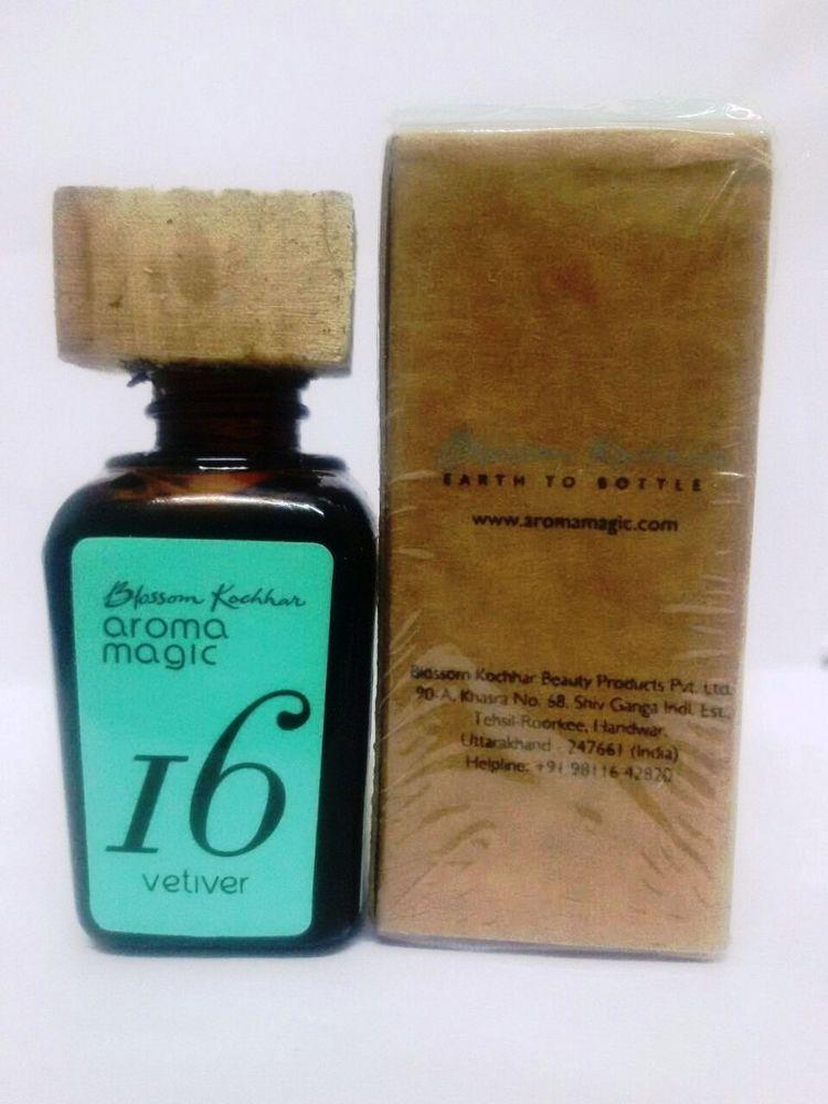 Vetiver Oil 100% Natural Pure Undiluted Vetiver Essential Oil - 20 ml/Pack #BlossomKochharsAromaMagic