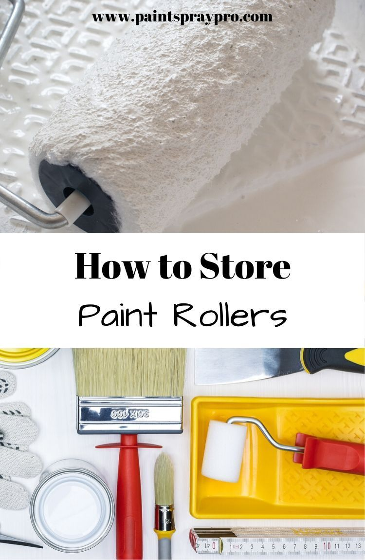 How to Clean Paint Brushes and Rollers in 2020 Cleaning