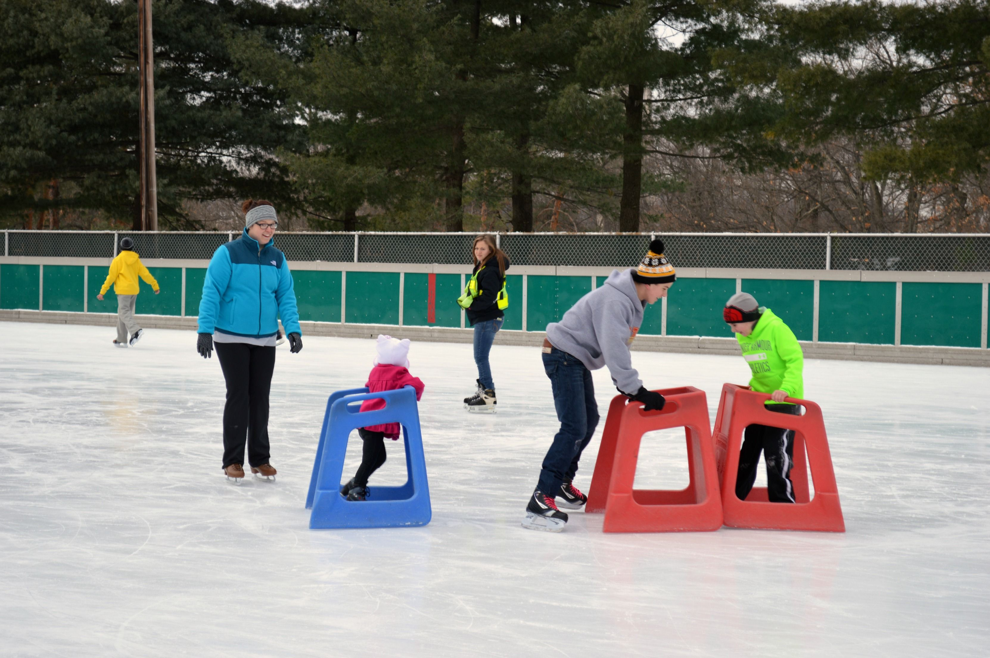 Schenley Skating Rink Outdoor Activities Play skate and have