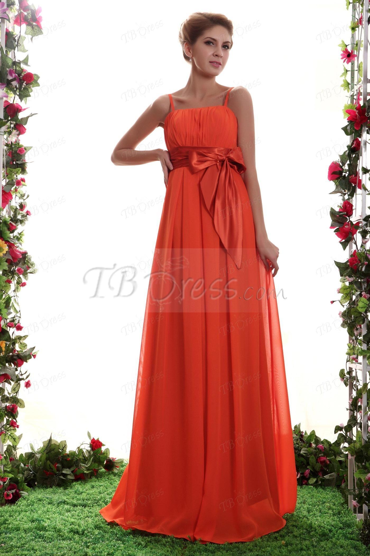 Elegant A-line Floor-Length Spaghetti Straps Nastya's Prom Dress