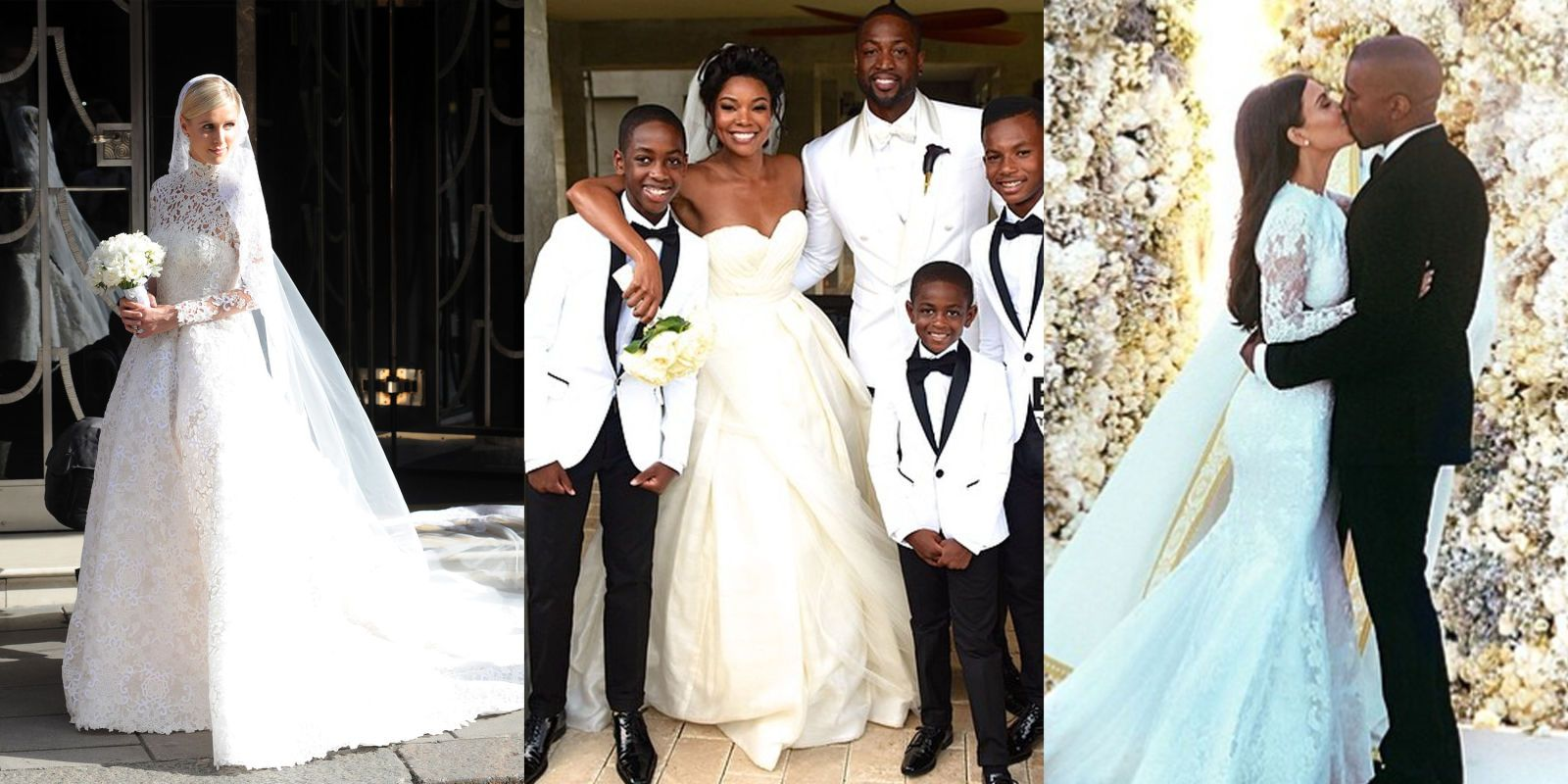 The 18 Best Celebrity Wedding Dresses We\'ve Ever Seen   Pinterest ...
