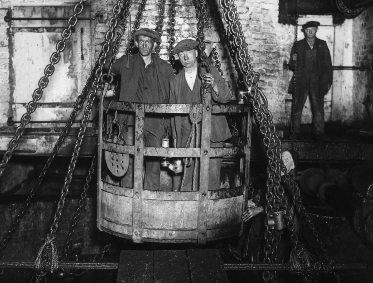 Striking 1900s Photos of Coal Miners in Europe and