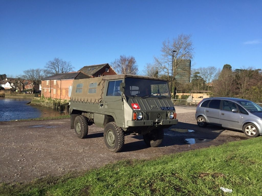 Pinzgauer 710 M - Tax Exempt - Not Unimog or Landrover | Vehicle and ...