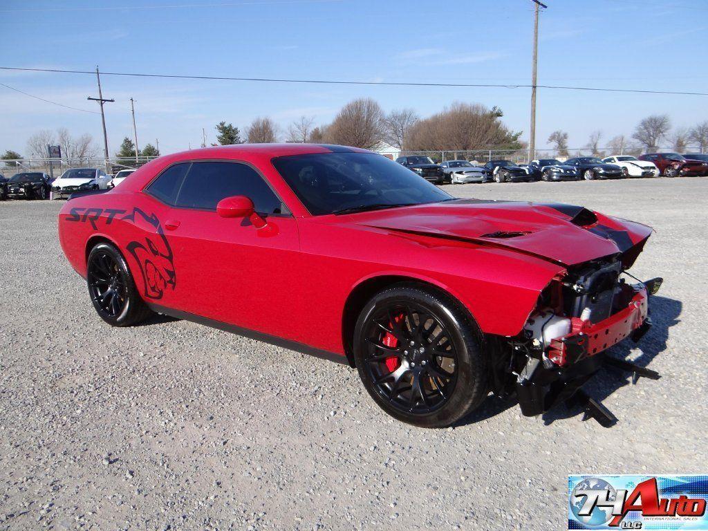 2015 dodge challenger srt hellcat repairable wrecked sport cars for sale pinterest srt hellcat dodge challenger srt hellcat and challenger srt