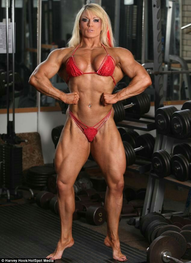 Pin by shaun robert on sexy female bodybuilders - Lisa cross fbb ...