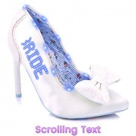 just married in 2020  funky shoes irregular choice shoes