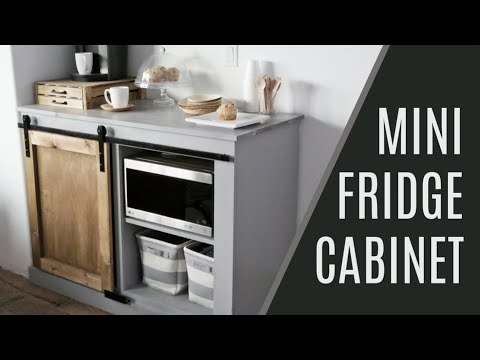 Diy Guest Room Snack Cabinet With Mini Fridge And Microwave Ana White Diy Barn Door Hardware Door Hardware Diy Diy Barn Door