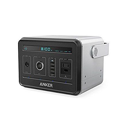 Anker Powerhouse 434wh 120 600mah ポータブル電源 静音インバーター Usb Ac Dc出力対応 Poweriq搭載 キャンプ 緊急 災害時バックアップ用電源 ソーラー充電器 インバーター ポータブル充電器