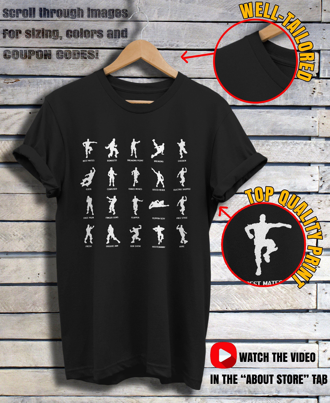 46acce6f Fortnite T Shirt. Fortnite Youth unisex Battle Dance Shirt. Emote Shirt  Fortnite Battle Royale. Fortnite Kids Apparel. Floss Like a Boss!