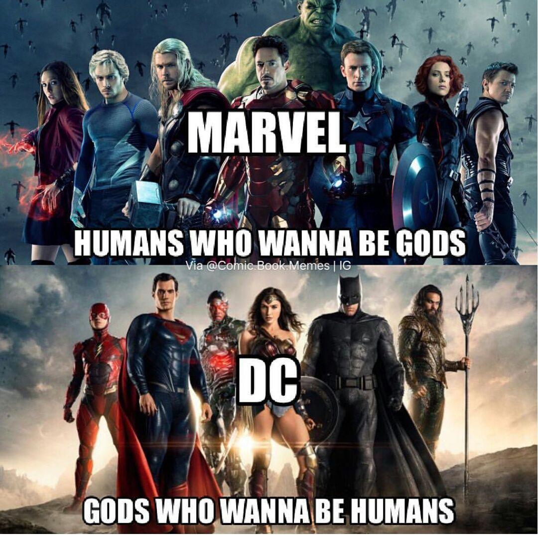 5 Dc Marvel Movie Memes That Only True Fans Will Understand Marvel Funny Marvel Jokes Marvel
