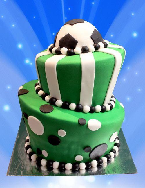 Football Cake Ideas Uk Soccer Cake Soccer Birthday Cakes