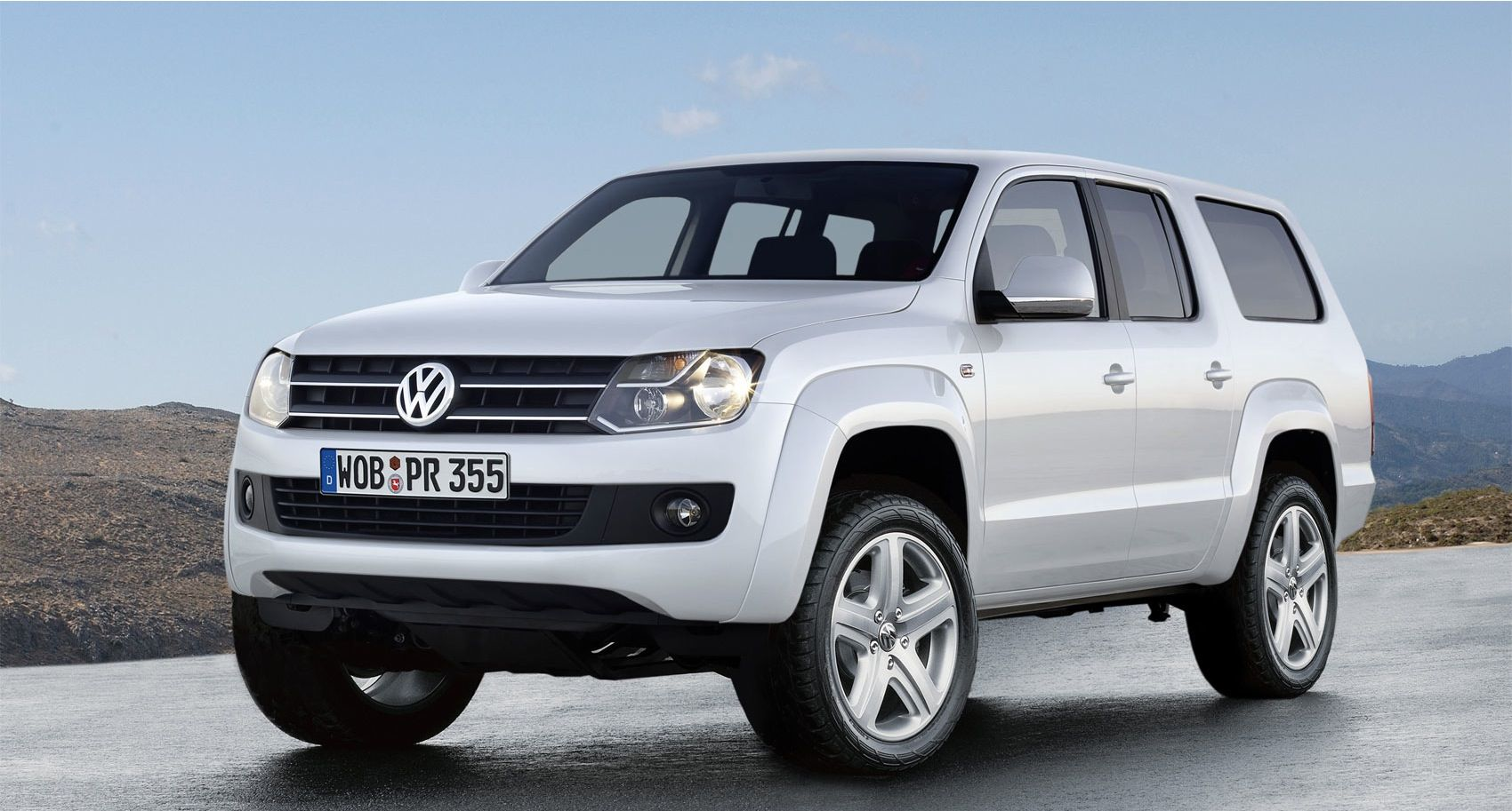 New amarok 2014 vw amarok s tv debut vdub news com