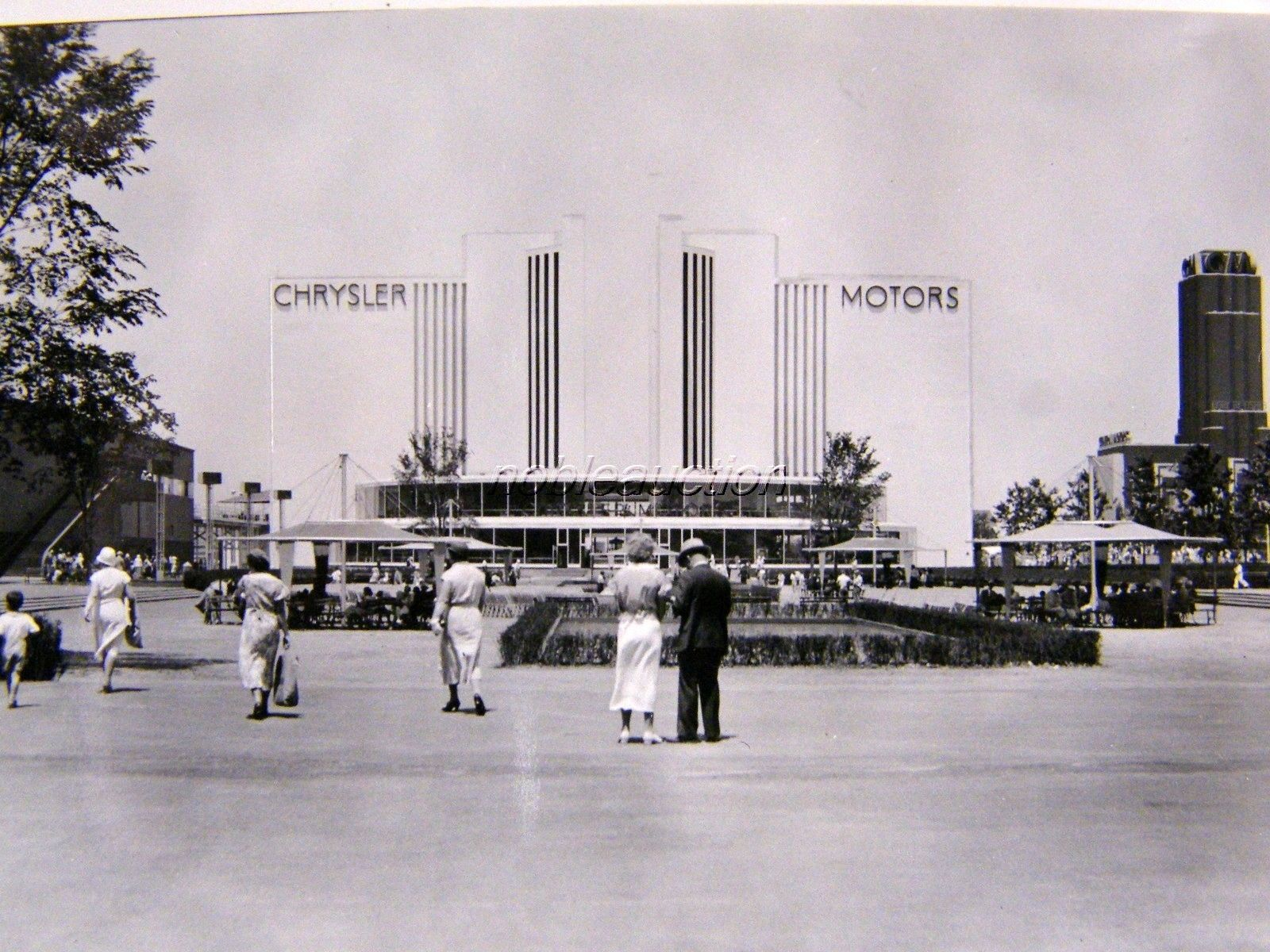 1933 Chrysler Motors GM Century of Progress Chicago Fair Photo Snapshot   eBay